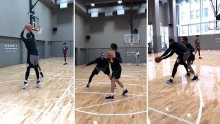 Cole Anthony Plays Against Carmelo Anthony One On One
