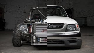 Toyota Hilux Drift Car Build Project
