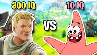 300 IQ VS 10 IQ #2 (Best Fortnite Plays, Predictions, & Fails)