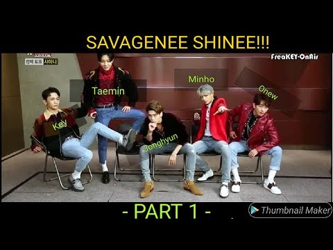 SHINee Savage Moments (PART 1) 🔥🔥🔥