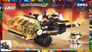 LEGO instructions - Space - Blacktron 2 - 6861 - Super Model Building Instruction