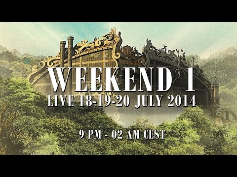 Tomorrowland live 2014
