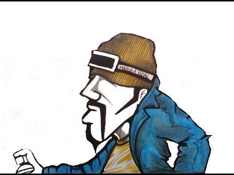TelleFunk-(Mashina Za Ples)-(how to draw a graffiti ...  TelleFunk-(Mash...