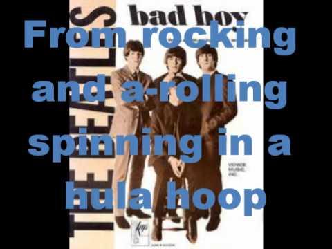 The Beatles- Bad Boy *lyrics*