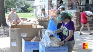 'RECYCLING: Move-In Day 2015 - Pittsburg State University