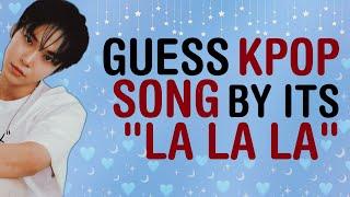 "KPOP GAMES | GUESS KPOP SONG BY ITS ""LA LA LA"""