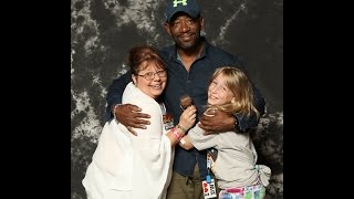 "Chatty about meeting Lennie James from The Walking Dead AKA ""Morgan"""