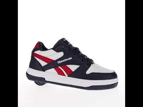 Video HEELYS Roller shoe X REEBOK BB4500 Low (10369) Navy White Red