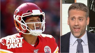 Patrick Mahomes is still the NFL MVP right now - Max Kellerman | First Take