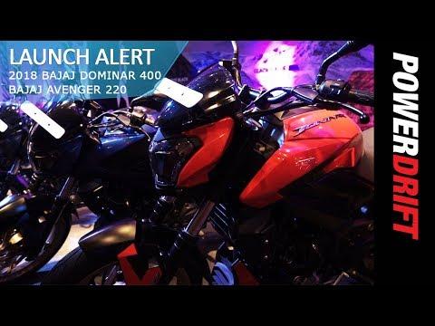 What's New in the 2018 Bajaj Dominar 400 and Avenger 220 : PowerDrift
