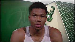 Giannis Antetokounmpo explains how to pronounce his last name | ESPN