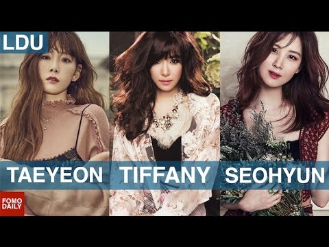 Taeyeon, Tiffany, Seohyun • Like, DM, Unfollow