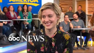 Greta Gerwig opens up about 'Lady Bird' live on 'GMA'
