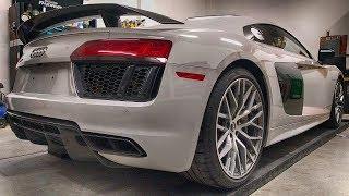 2017 Audi R8 V10 Plus - Crazy Wrap Time lapse