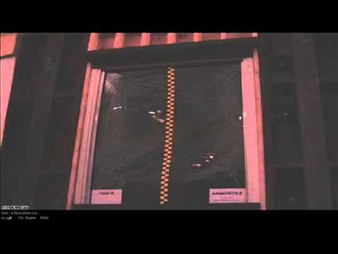 Blast Resistant Window Test - Test 8 - LP 400