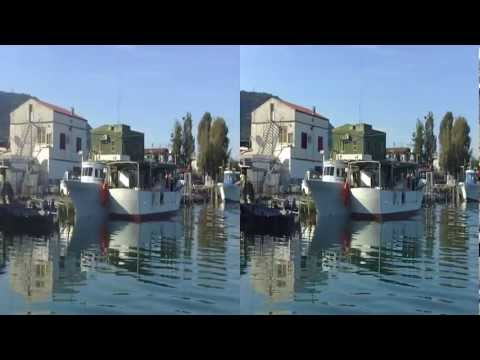 Mussel Farming Trip in 3D (c)3Dstreaming.it - Cagnano Varano (FG) Puglia - Italy [YT3D]