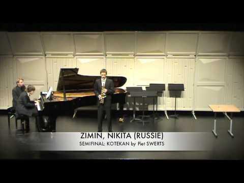 ZIMIN, NIKITA (RUSSIE) Kotekan by piet Swerts