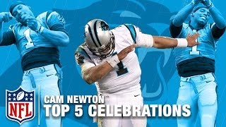 Cam Newton's Top 5 TD Celebrations! | NFL