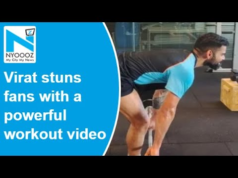 Whoa! Virat Kohli stuns fans with a powerful weightlifting video
