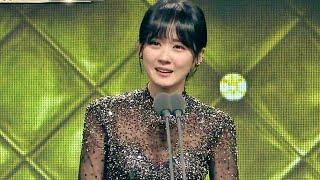 2014 MBC 연기대상 - Jang Nara Cry&Laugh Speech '끝없는 감격의 눈물' 장나라, 최우수상 수상!! 20141230