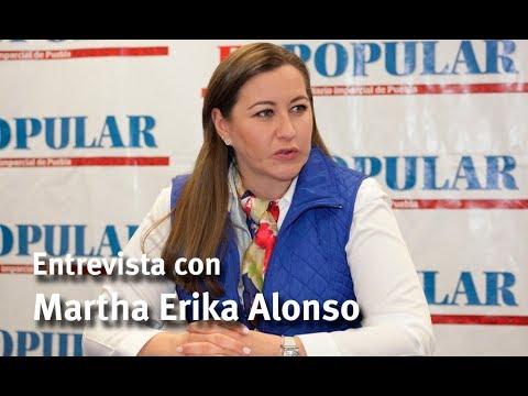 Entrevista con Martha Erika Alonso