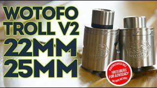 Wotofo Troll V2 22mm ~ 25mm