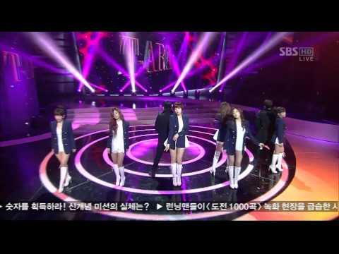 T-Ara - Cry Cry (SBS Inkigayo 120101) Live HD