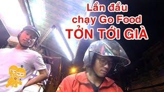 Cuốc Go Food đầu tiên gặp ngay BÀ CỐ NỘI - Xe Ôm Vlog