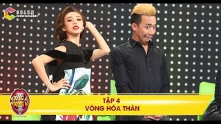 Giọng ải giọng ai |tập 4 vòng 1: Trấn Thành, Thu Trang tạo dáng pose ảnh như người mẫu trêu thí sinh