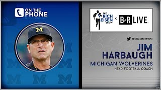 Jim Harbaugh Wishes Rich Eisen a Happy 50th Birthday | Full Interview | 6/21/19