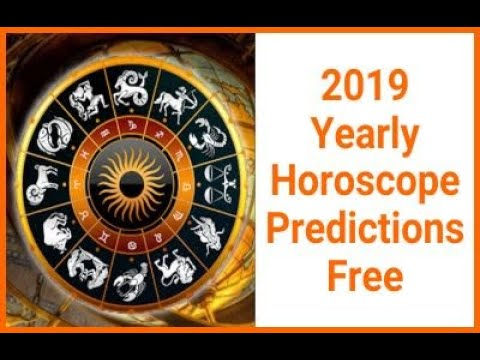 2019 Yearly Horoscope Predictions Free