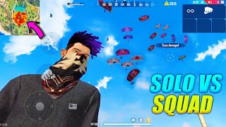 Solo vs Squad But 14 Kills Only || Factory Roof Intense Fight || Garena Free Fire || P.K. GAMERS