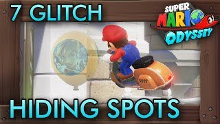 7 Glitch Hiding Spots in Balloon World You Should Avoid | Super Mario Odyssey