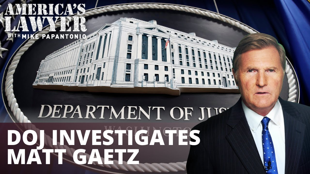 DOJ Investigates Political Pariah Matt Gaetz