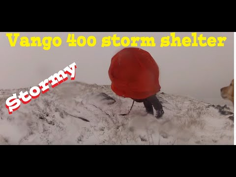 video Bothy Bags and Storm Shelters: The Vango Storm Shelter 400 Review