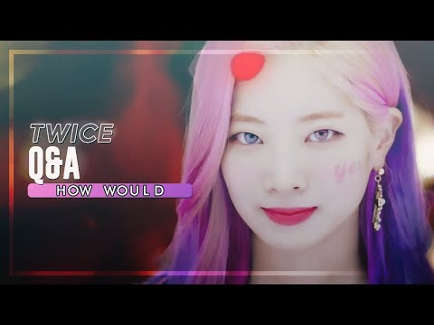 How Would TWICE sing「Q&A」 by Cherry Bullet • Line Distribution