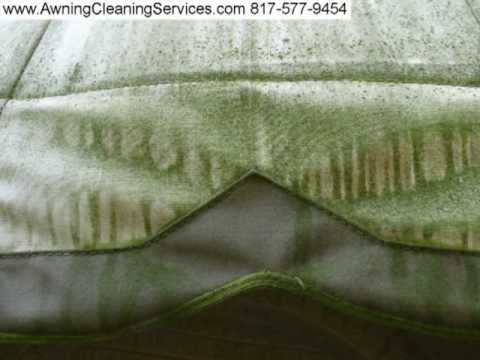 Awning Cleaning To Remove Mold Amp Mildew From A Canvas