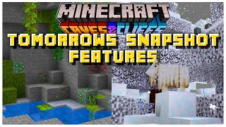 Tomorrows 1.17 Snapshot Features Revealed By Mojang | Minecraft 1.17 Caves & Cliffs Update (21w010a)