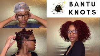 How to Get Bomb Bantu Knot Results  | Tutorial | Protective Style