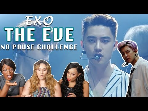EXO THE EVE MUSIC CORE NO PAUSE CHALLENGE || TIPSY KPOP