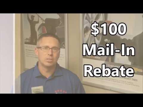 $100 Tire Rebate Brad Deery Motors, Maquoketa, IA