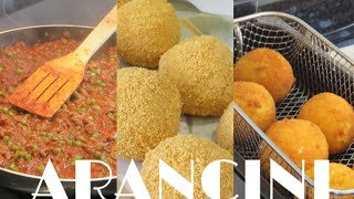 Authentic Sicilian Arancini (Rice balls)  | Calogero's Secrets