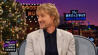 Owen Wilson Wants a Rematch w/ Usain Bolt