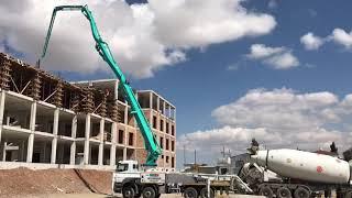 BMS Everdigm 42CX-5 Beton Pompası Kıbrıs'da İş Başında