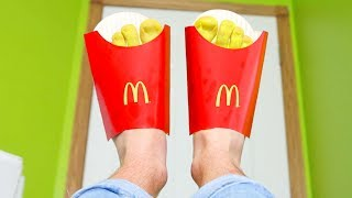MCDONALD'S SANDALS (see it to believe it)