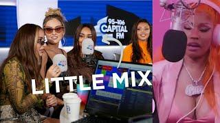 Nicki Minaj spills the tea with Little Mix [Audio]