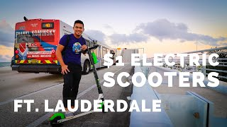 $1 electric scooters in Ft. Lauderdale?! | Lime scooter review