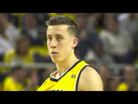 Michigan's Sharpshooter: Duncan Robinson | B1G Basketball | The Journey