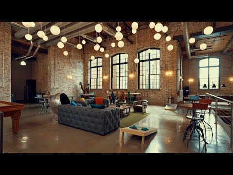 Industrial Loft Apartment Tour