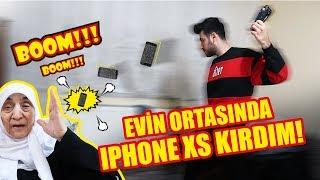 EVİN ORTASINDA İPHONE XS KIRDIM | ANANE TEPKİ !